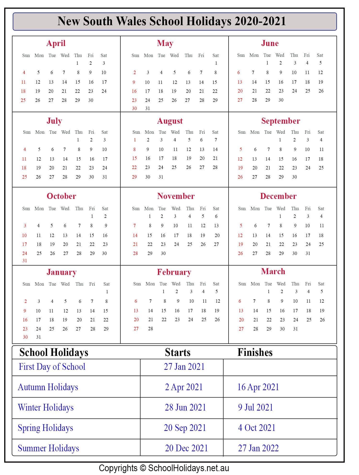 2022 School Calendar Queensland - Nexta
