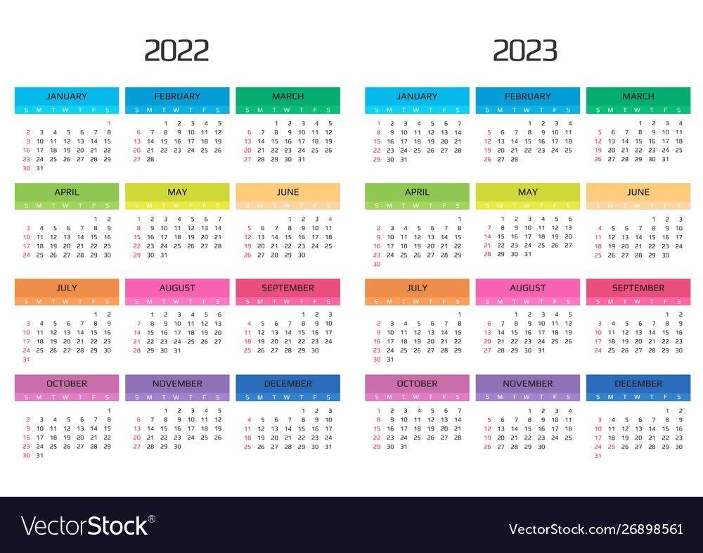 Calendar 2022 2023