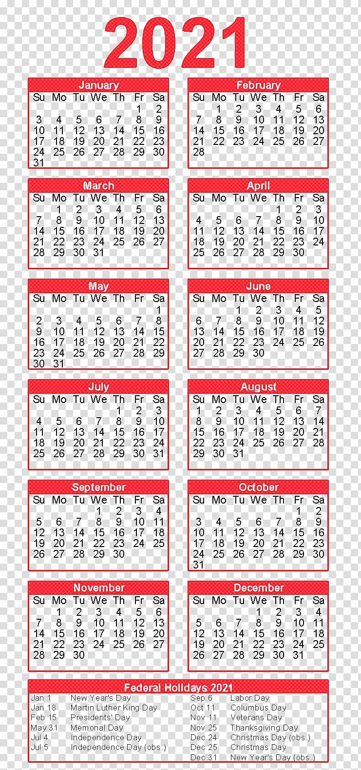 Calendar For 2021 With Holidays And Ramadan : Please Note