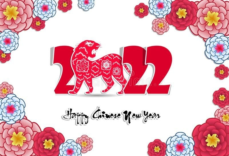 Chinese New Tiger Year Stock Illustrations - 1,567 Chinese