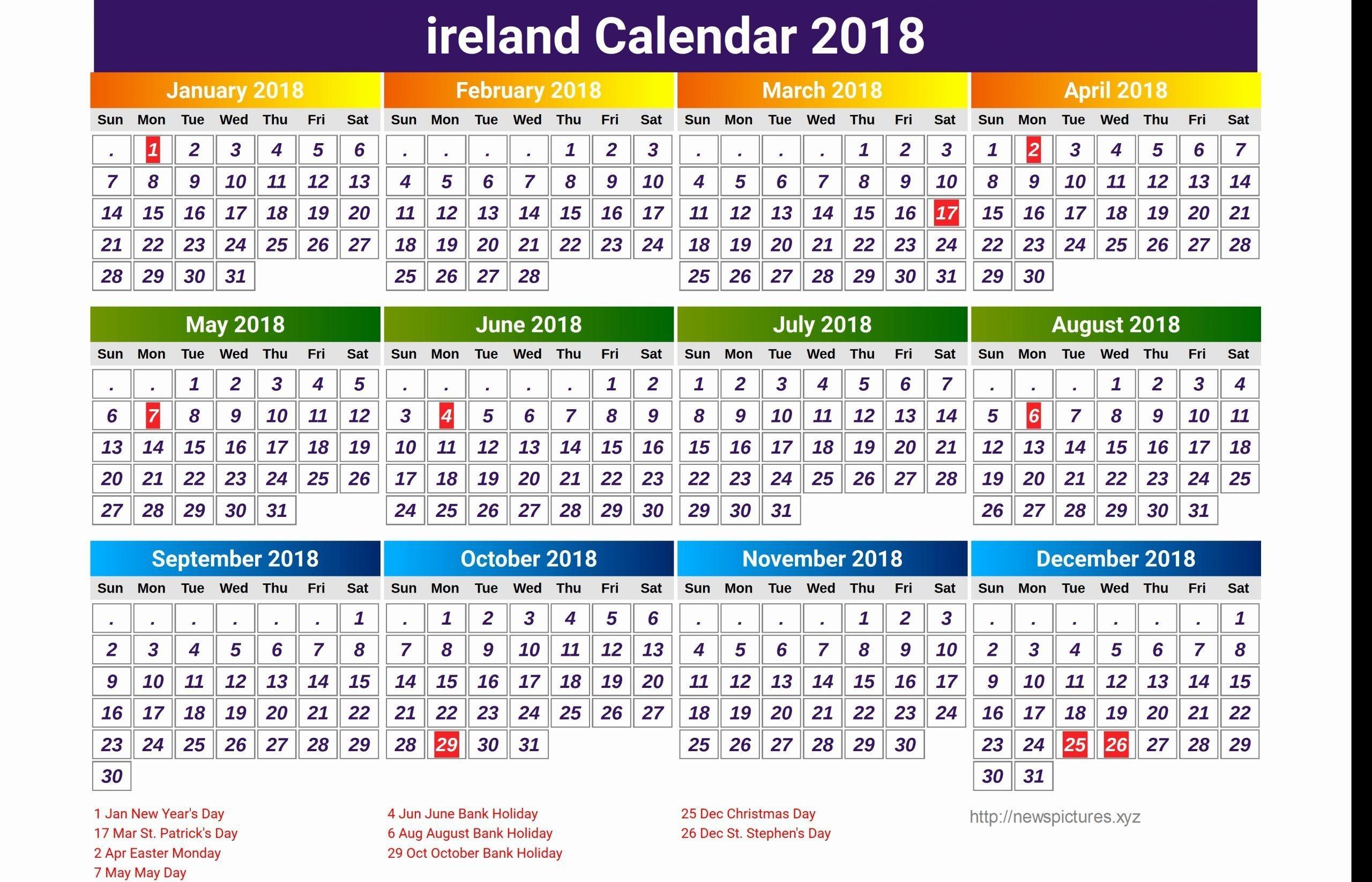 Christmas Bank Holidays 2020 Ireland - Chrismastur