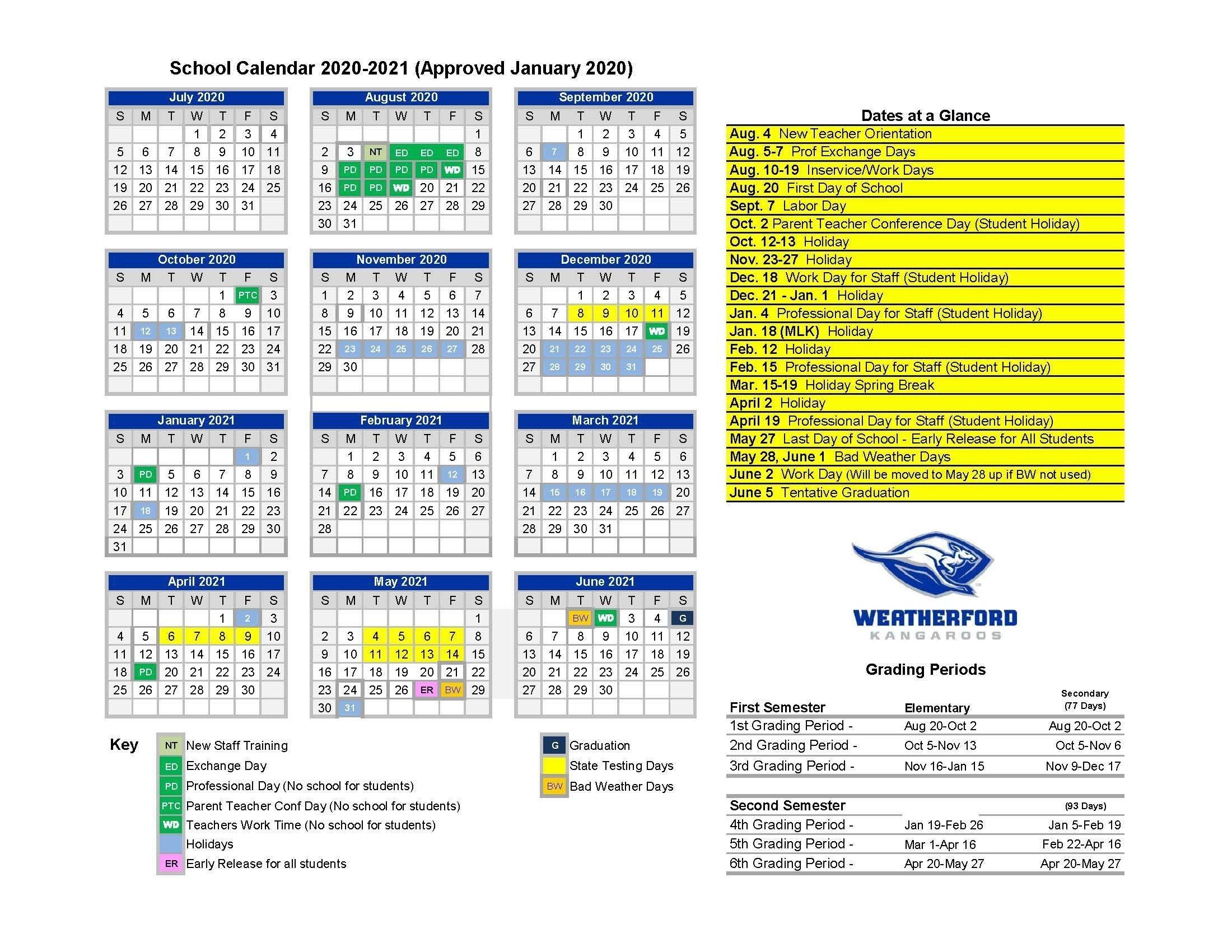 District 93 Calendar 2021 2022   Printable March