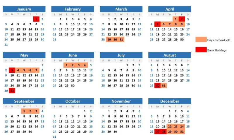 Hack Your Annual Leave In 2021 For More Days Off - Roaming