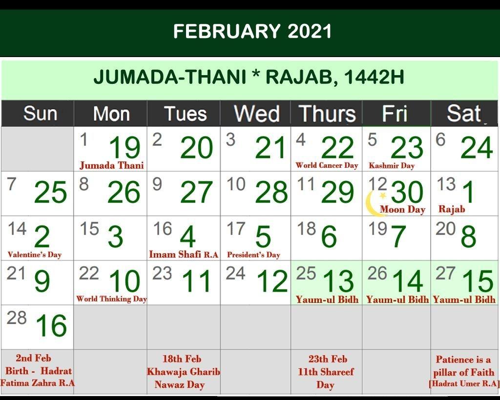 Islamic Hijri Calendar 2021 For Android - Apk Download