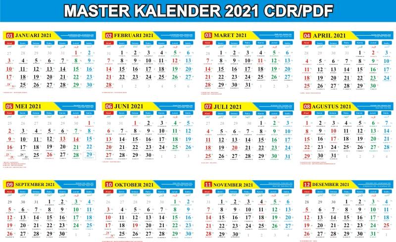 Kalender Cina 2021 Lengkap