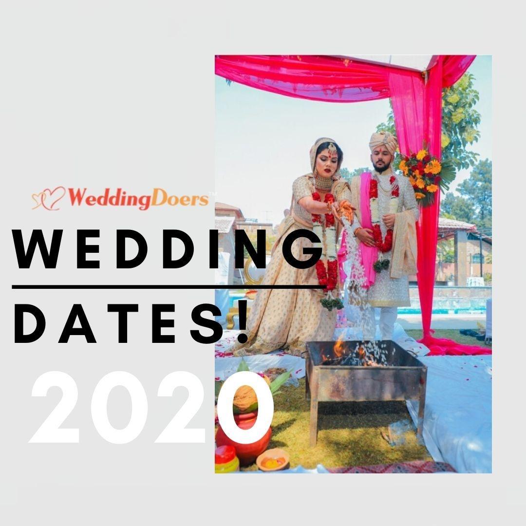 Marriage Dates In 2020 | Shubh Muhurat Or Vivah | Hindu