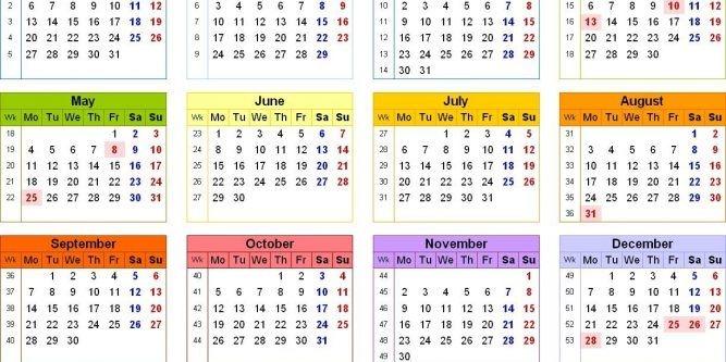 Printable 2021 Calendar Uk With Bank Holidays | 2021