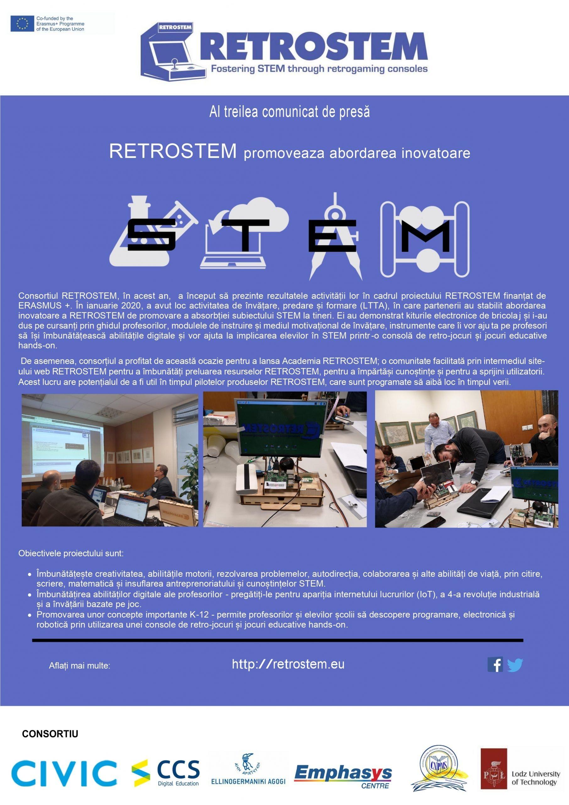 Retrostem - Newsletter • Colegiul Național Pedagogic