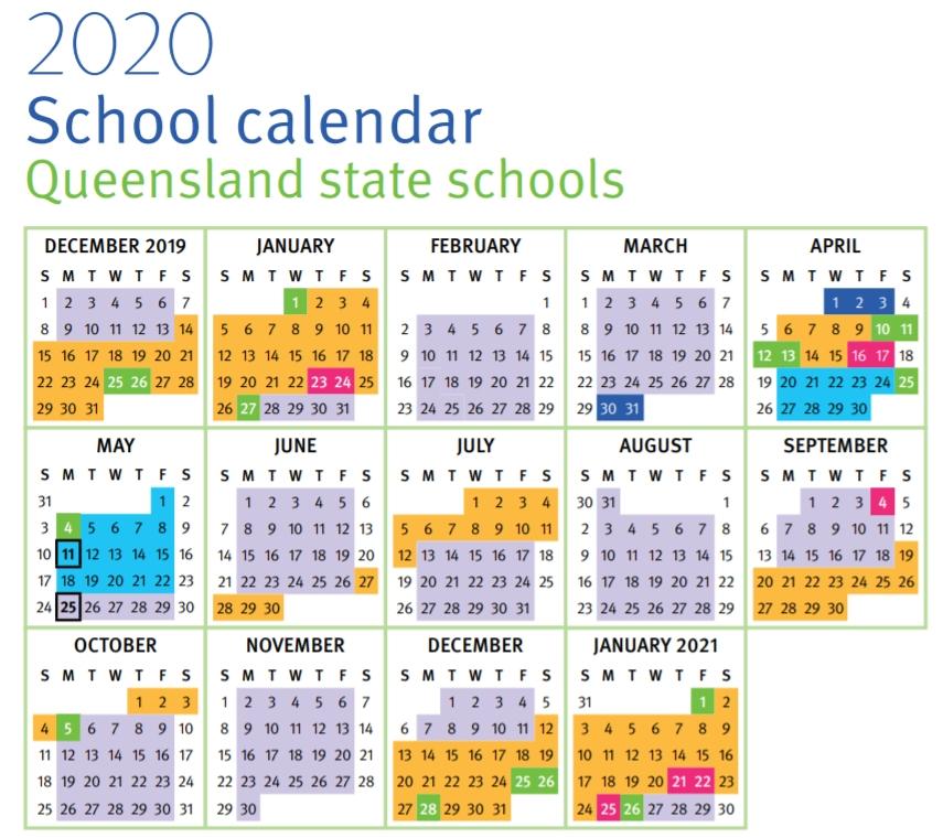 School Term Holidays 2020 | Anexa Wild